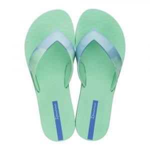 """Sandalia Ipanema de la colección """"Blend Fem"""" (26507-22497) con degradados de color Verde/Azul"""