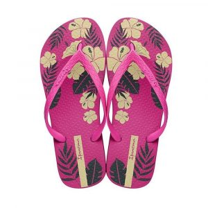 """Sandalia Ipanema de la colección """"Bliss Ad"""" con estampado de flores (26508-25447) de color Rosa/Amarillo/Verde"""