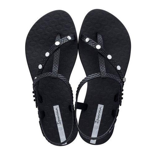 """Sandalia Ipanema de la colección """"Class Wish Spikes"""" con correas cruzadas (26545-21285) de color Negro"""