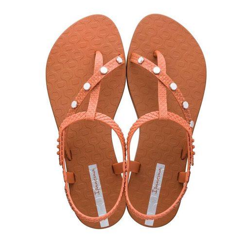 """Sandalia Ipanema de la colección """"Class Wish Spikes"""" con correas cruzadas (26545-22309) de color Naranja/Tabaco"""